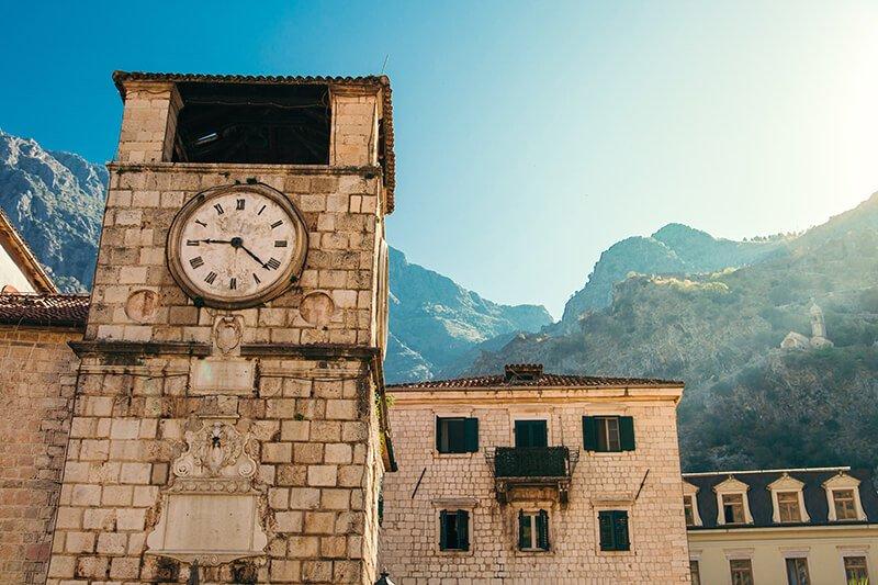 montenegro clocktower