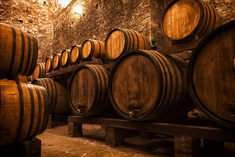 wine cellar peljesac