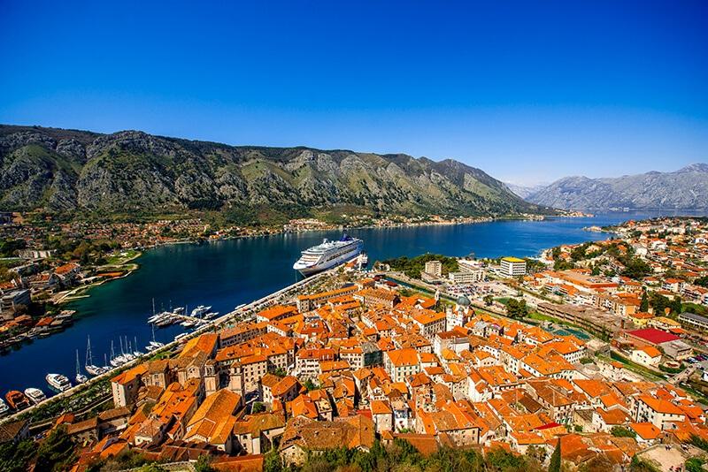 montenegro tour top view
