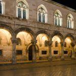 Night Scene In Dubrovnik's Old Town