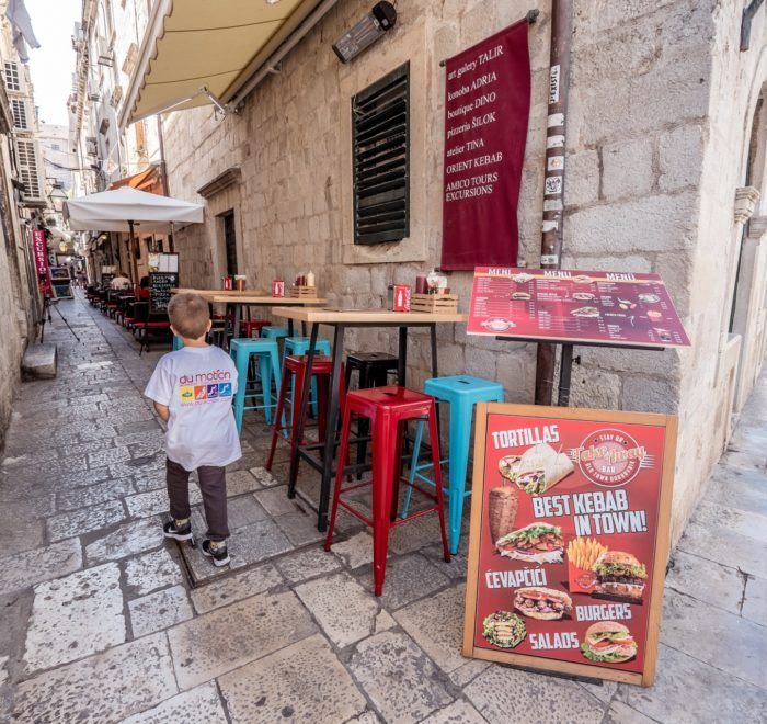 street food dubrovnik